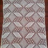 tesatura textila - PERDEA CROSETATA MANUAL