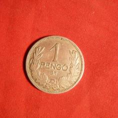 Moneda 1 Pengo 1926 argint, Ungaria, cal.Buna, Europa