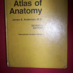 Grant's atlas of anatomy(atlas de anatomie-in lb.engleza)