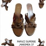 PAPUCI SUPERBI DAMA, MARIMEA 37, LIVRARE GRATUITA - Papuci dama, Culoare: Galben