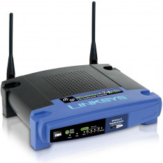 Wireless-G Broadband Router Cisco (WRT54GL), Porturi LAN: 4, Porturi WAN: 1
