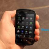 "V/S HTC Explorer, soft Carbon, 3, 5mp, 3, 2"" - Telefon HTC, Negru, Neblocat, Smartphone, Touchscreen"