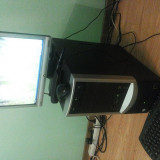 Pc Complet - Sisteme desktop cu monitor, Intel Core 2 Duo, 1 GB, 100-199 GB, Altele, BenQ