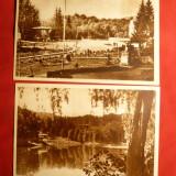 2 Ilustrate Sovata - anii '50 - Carti Postale Romania dupa 1918
