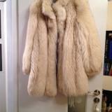 Haine dama - Haina de blana vulpe polara
