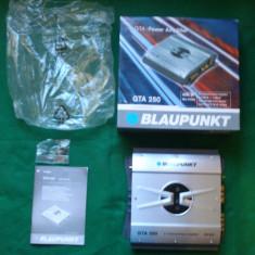 Amplificator auto BLAUPUNKT GTA250 400W Max Power, peste 200W