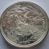 "Monede Romania - (38) MARTISOR 1 MARTIE 2012 CARREFOUR ""LA MULTI ANI CU SANATATE"" - ARGINTATA ! FOARTE FRUMOASA !"
