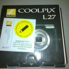 Nikon coolpix L27 - Aparat Foto Nikon Coolpix L27