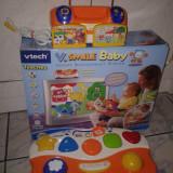 Consola TV Vtech V.smile Baby  + 1 cartus cu jocuri - in lb. engleza- distractiv si educativ