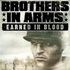 Jocuri WII Ubisoft, Actiune, 16+, Single player - JOC WII BROTHERS IN ARMS EARNED IN BLOOD ORIGINAL PAL / STOC REAL / by DARK WADDER