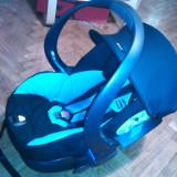 Scaun auto bebelusi grupa 0+ (0-13 kg), Altele, Albastru, Opus directiei de mers - Scoica / Scaun Auto - Besafe iZi Sleep