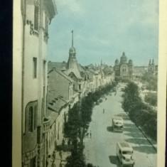 Vedere din Tg-Mures - intreg postal - circulata 1961