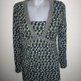 Bluza dama, Maneca lunga, Poliester - Bluza eleganta Street One, marime 40: 49 cm bust; 100% vascoza; impecabila