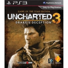 PE COMANDA Uncharted 3 Game of the Year Edition SIGILAT - Jocuri PS3 Sony, Actiune, 16+, Multiplayer