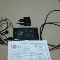 Lg optimus l5 - Telefon mobil LG Optimus L5, Negru, Neblocat, Single SIM