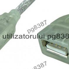 Cablu adaptor USB A tata-USB A mama - 0, 2 m-128067