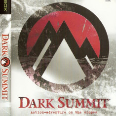 JOC XBOX clasic DARK SUMMIT ORIGINAL PAL / STOC REAL / by DARK WADDER - Jocuri Xbox Thq, Sporturi, 3+, Multiplayer