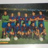 Foto echipa de fotbal FC BARCELONA 1978