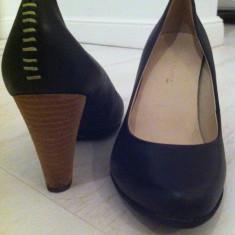 Pantofi dama, Marime: 36, Negru - Pantofi superbi si super comozi din piele naturala Terra Plana!