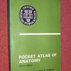 Atlas de anatomie - Pocket atlas of anatomy - Third edition - Victor Pauchet and S. Dupret
