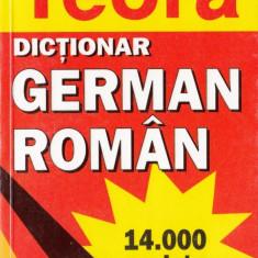 DICTIONAR GERMAN-ROMAN de I. SIRETEANU si E. TOMEANU teora