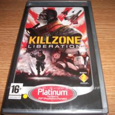 Joc Killzone Liberation, PSP, original si sigilat, 25 lei(gamestore)! - Jocuri PSP Sony, Shooting, 16+, Single player