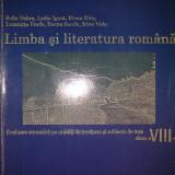 Limba si literatura romana - Clasa a VIII-a - Evaluare sumativa pe unitati de invatare si subiecte de teze - Manual scolar, Clasa 8
