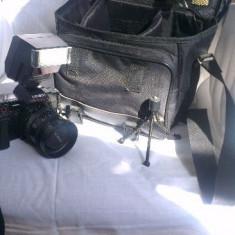 Aparat foto film Minolta AF 5000 cu blitz - Aparat Foto cu Film Konica Minolta