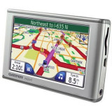 Vand GPS Garmin Gramin nuvi 650, Car Sat Nav, Redare audio, Touch-screen display, Incarcator auto, Memorie extensibila