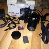 DSLR Canon, Kit (cu obiectiv) - Vand Canon 400D body+obiectiv 18-55 mm