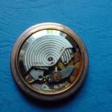 Ceas barbatesc, Mecanic-Automatic - Mecanism ceas vechi, Eberhard automatic, 17 rubine