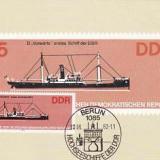 2362 - Germania DDR carte maxima 1982