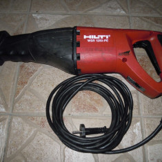 Fierastrau sabie alternativ electronic HILTI WSR 1250-PE 1250 W - Masina de taiat