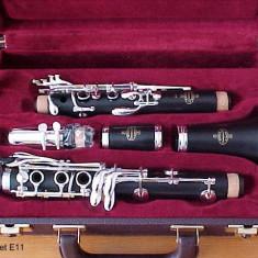 Clarinet sib lemn de abanos buffet crampon e11 france cu mustiuc Vandoren clasic B45.