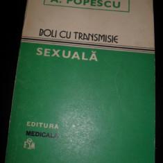 Carte Dermatologie si venerologie - A.Ppopescu - Boli cu transmisie sexuala