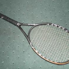 RACHETA WILSON - Racheta tenis de camp Wilson, Performanta, Adulti, Carbon/Bazalt