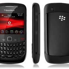 Telefon mobil Blackberry 8520, Neblocat - BlackBerry Curve 8520 Black