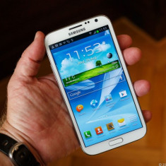 Telefon mobil Samsung Galaxy Note 2, Alb, Neblocat - Samsung Galaxy Note 2