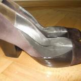 Pantofi de zi - Pantof dama, Marime: 37, Culoare: Maro, Maro