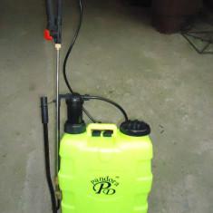 Pompa pentru stropit - Pompa de stropit 20 L cu 2 tije una metalica telescopica pentru pomi si una fixa