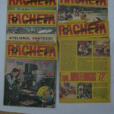 LOT REVISTE COLECTIE RACHETA CUTEZATORILOR ANII 70 - Revista scolara