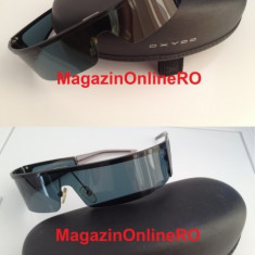 Ochelari de soare OXYDO - ORIGINALI -, Unisex, Negru, Curbati, Metal, Protectie UV 100%