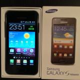 Samsung Galaxy - Telefon mobil Samsung Galaxy S Advance, Negru, 8GB, Neblocat
