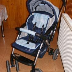 Carucior DHS 269A - Carucior copii 2 in 1 DHS, Altele, Pliabil, Albastru, Maner reversibil