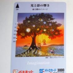 Cartela / Card Japonia - ARTA, FANTASTIC  -   2+1 gratis toate licitatiile - RBK2380