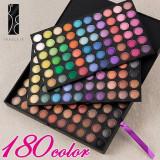 Trusa machiaj 180 nuante fard ochi FRAULEIN38 170 culori farduri pleoape - Trusa make up