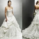 Rochie de mireasa Maggie Sottero, model Monalisa Royale, marimea 6, culoare Ivory - Rochie de mireasa printesa