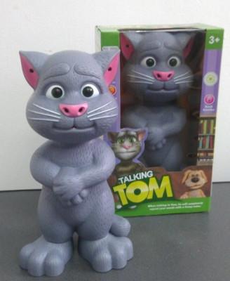 Talking TOM CAT jucarie Motanul vorbaret rectioneaza la atingeri . jucarie inteligenta .pisica vorbitoare Tom Mare ! foto