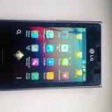 Lg Optimus L3 Nou Husa Silicon TPU un card de 2gb - Telefon mobil LG Optimus L3, Negru