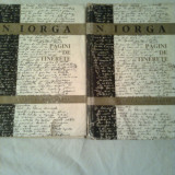 PAGINI DE TINERETE - STUDII SI DOCUMENTE ~  N.IORGA (vol..I+II )